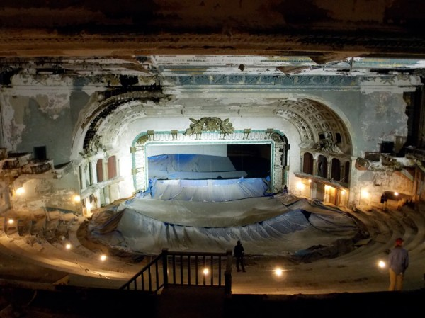 Inside The Abandoned Philadelphia Metropolitan Opera House