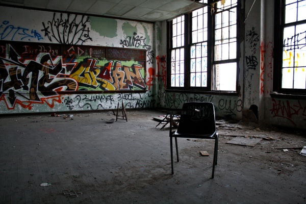 Inside One of Philadelphia's Abandoned Schools