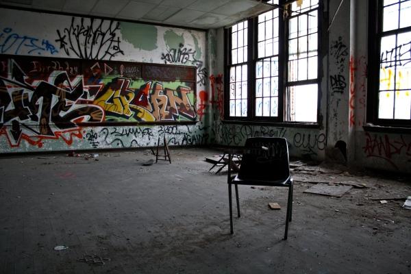 Inside One of Philadelphia's Abandoned Schools