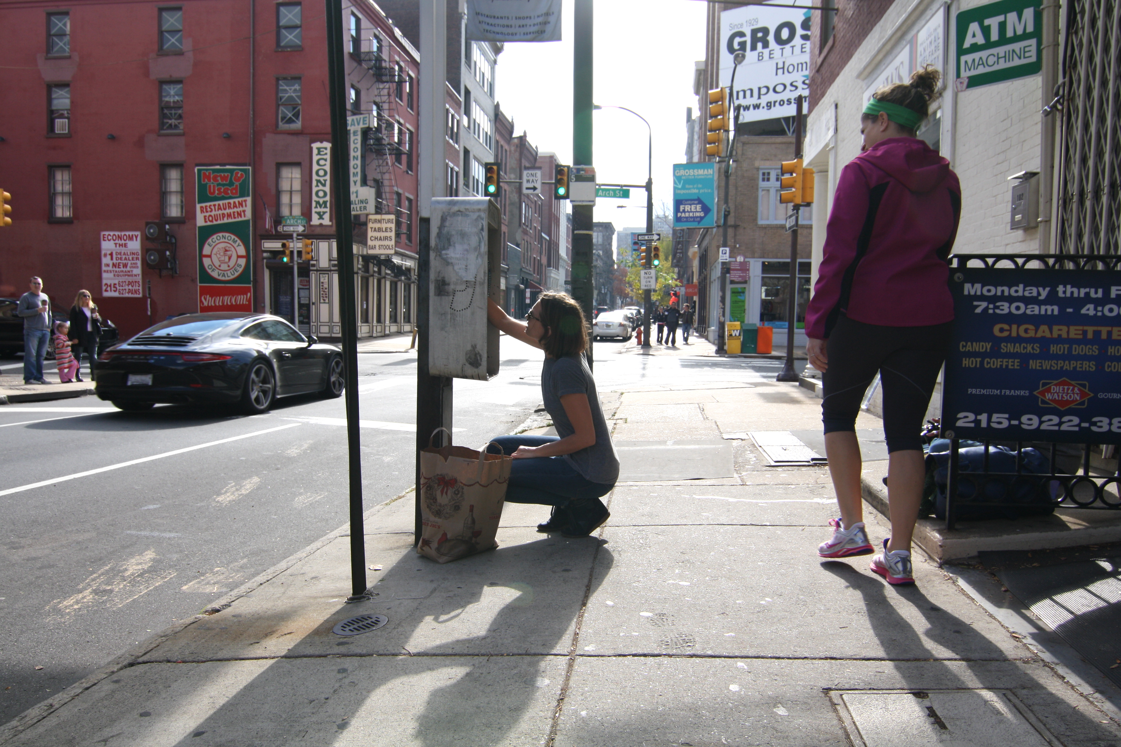 """d6b5b0f56b2ca Super excited to spend the weekend shooting LA-based artist Paige Smith as  she installed a BUNCH of her famous """"Urban Geodes"""" around Philly in  collaboration ..."""