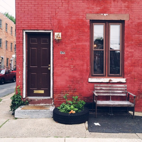 So simple, so lovely... #PhillyHomePortrait