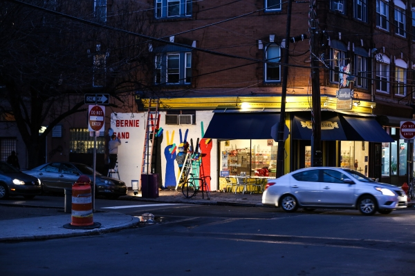 Bernie Sanders Mural Pops Up In Philly Streets Dept