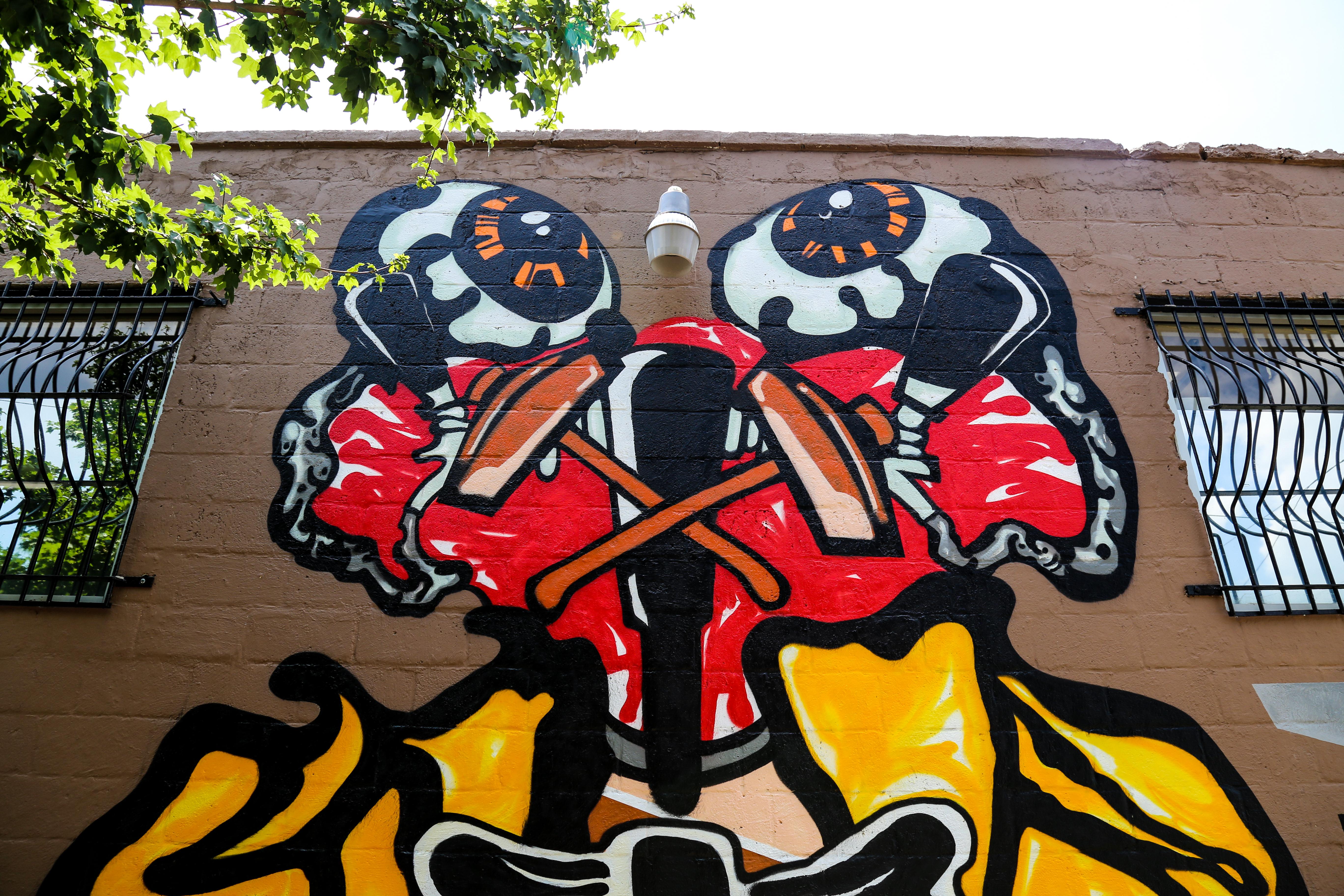 New YOMI Mural in Kensington is Soooooo Good!   Streets Dept