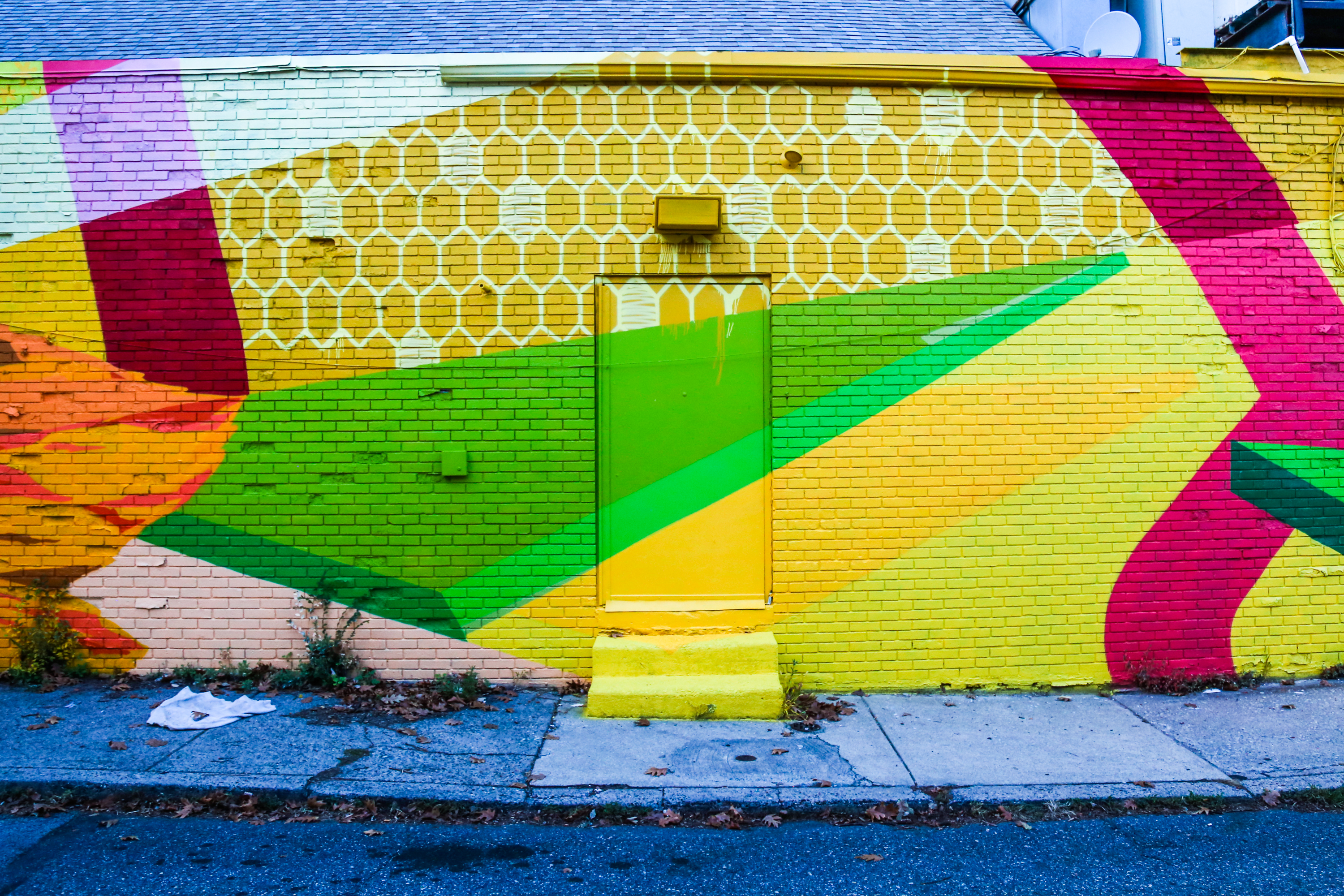 Brilliant New NTEL Mural in South Philly | Streets Dept