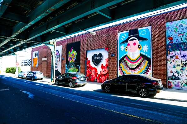 God Exists: Amberella and Glossblack Collaborate On A New Mural