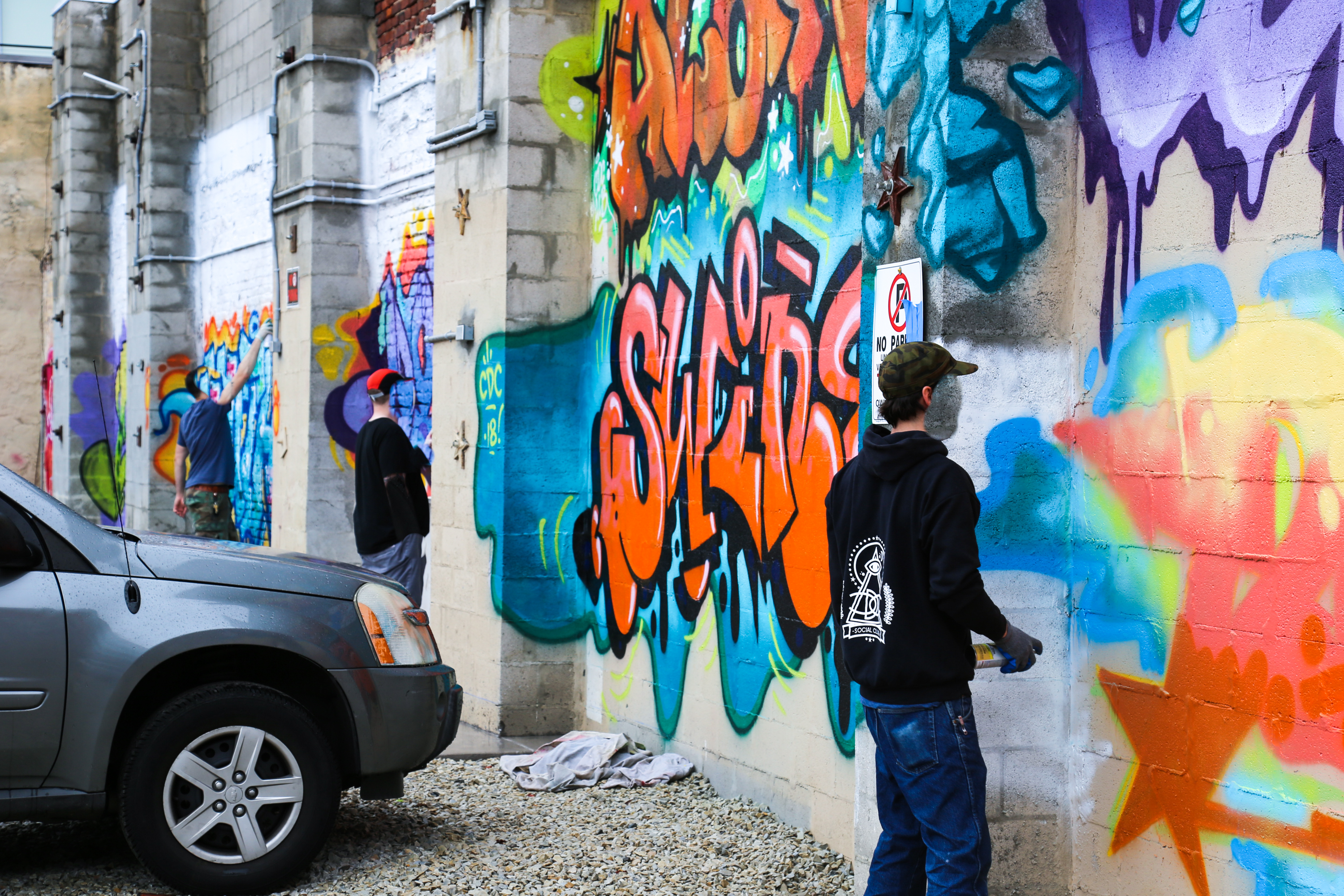 nationally acclaimed graffiti crew the cdc to host two day pop
