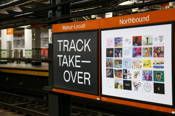 Image result for #TrackTakeover at Walnut-Locust Station